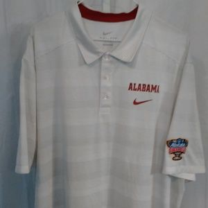 Nike Alabama Athletic Sport Style Polo Shirt (XXL)